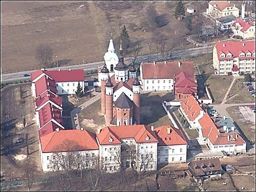 Belostok cathedral and church